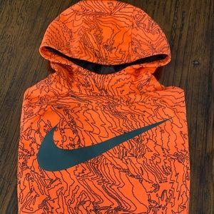 Boys Nike Dri-Fit Hoodie Size Large